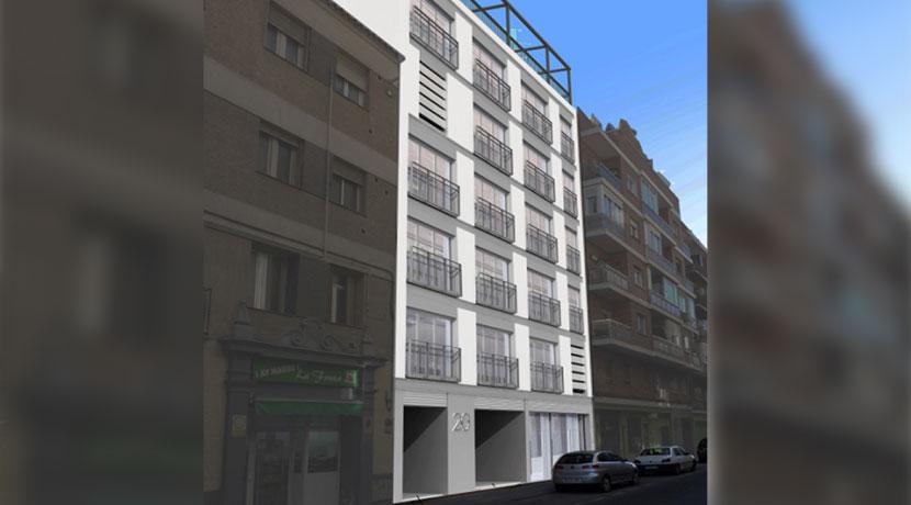 Edificio de 10 viviendas, local y garaje en Calle Tarragona, Arganzuela (Madrid)
