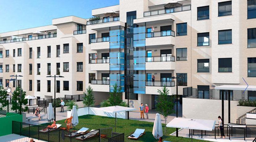 Residencial San Cosme II, Valdemoro (Madrid) 43 viviendas multifamiliares, garajes y trasteros
