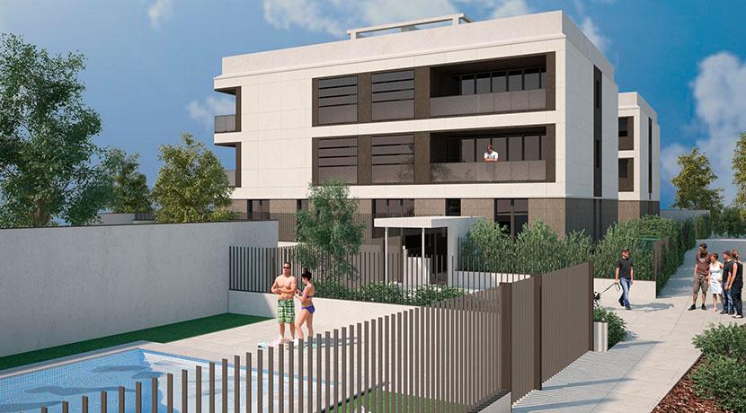 Proyecto básico y de ejecución de 10 viviendas en El Plantío, Madrid