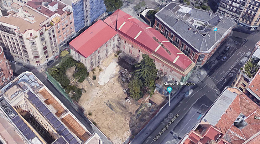 Rehabilitacion Palacio de Villagonzalo Madrid