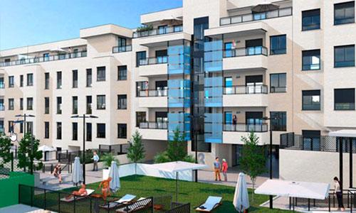 Residencial San Cosme II – 43 viviendas multifamiliares, garajes y trasteros, Valdemoro (Madrid)
